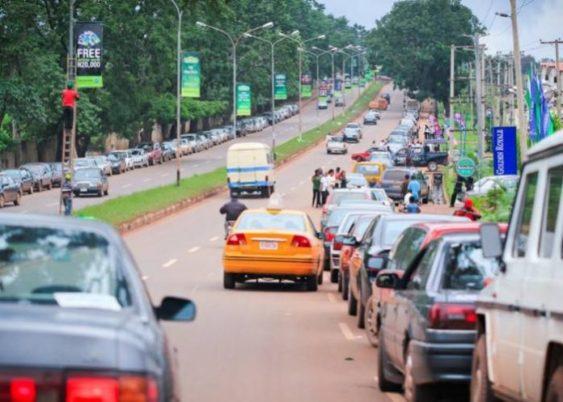 Enugu city in Nigeria