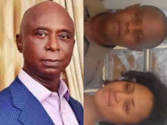 Regina Daniels, father, Ned Nwoko and Regina